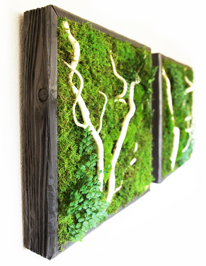 Artisan Moss natural colors and textures compliment many interior styles.