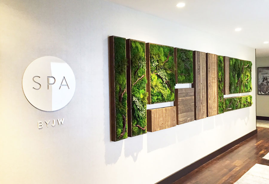 Plant Wall Art Commercial Image Gallery by Artisan Moss